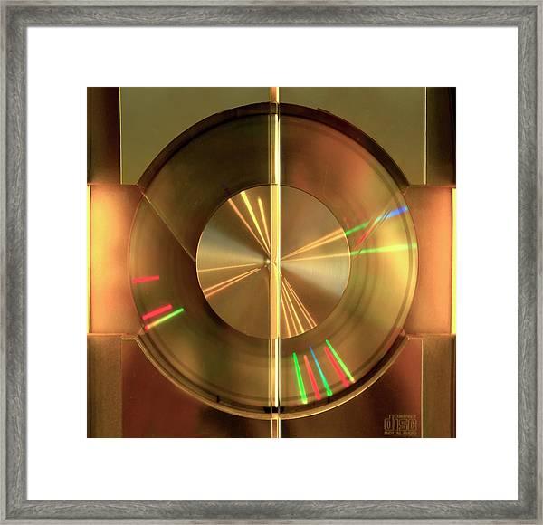 Colours. Time Framed Print