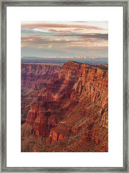 Comanche Point Framed Print