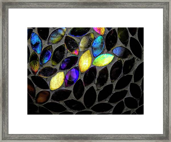 Coming Into Color Framed Print