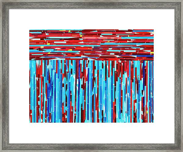 Compelling Conversations Framed Print by Color Bliss