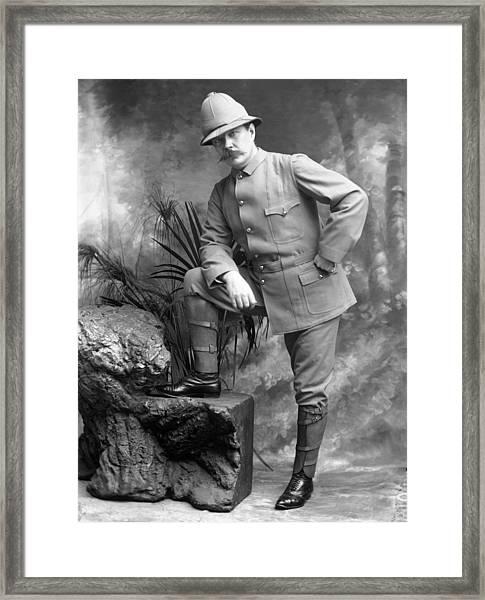 Conan Doyle Framed Print by London Stereoscopic Company