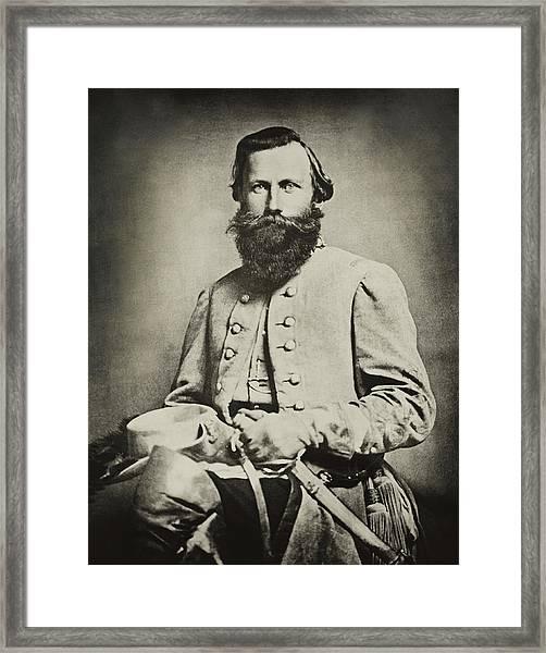 Confederate Jeb Stuart Framed Print