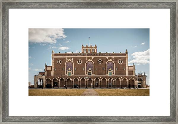 Framed Print featuring the photograph Convention Hall by Steve Stanger