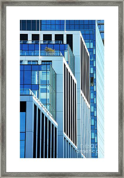 Converging Corners Framed Print by Tim Gainey
