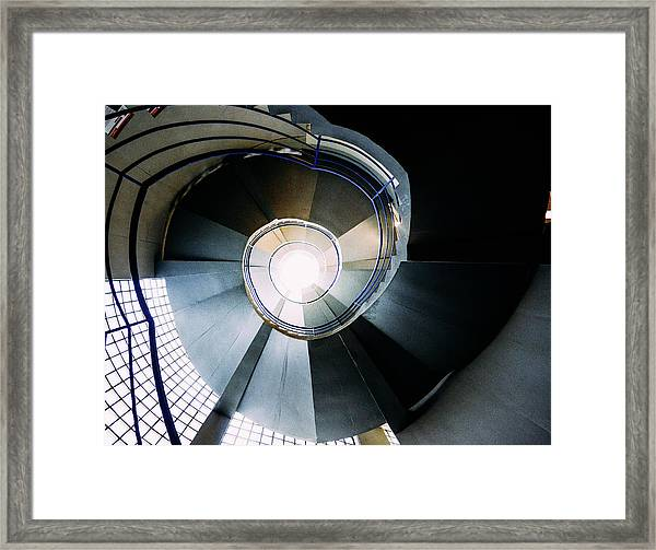 Convoluted Staircase  Framed Print