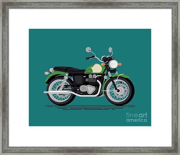Cool Vector Classic Design Street Framed Print