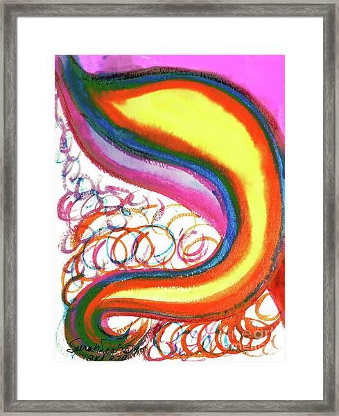 Cosmic Caf Ca4 Framed Print