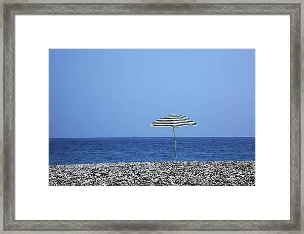 Cote Dazur, Nice, France Framed Print