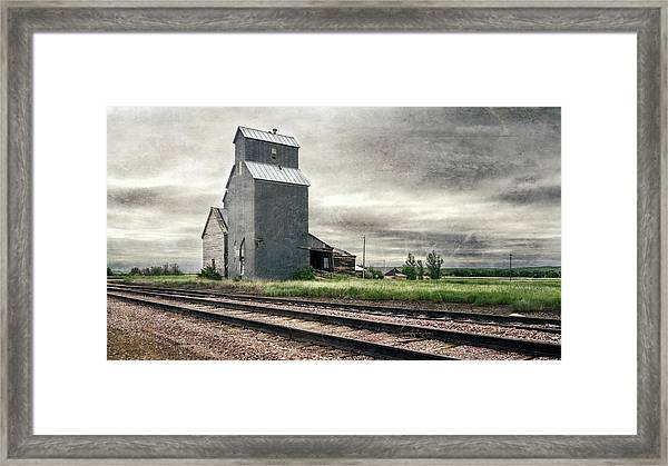 Cottonwood South Dakota Grain Elevator IIi Framed Print