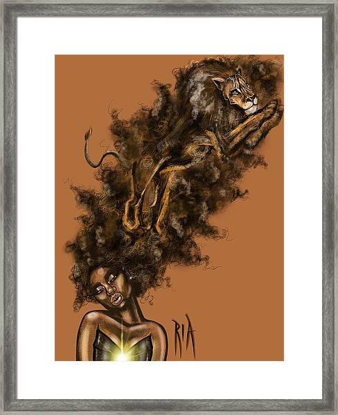 Courageous Me Framed Print