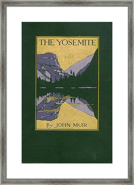 Cover Design For The Yosemite Framed Print