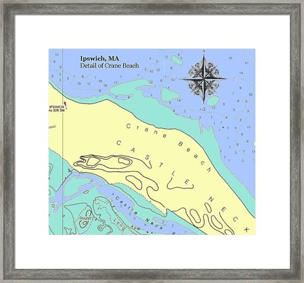 Crane Beach Framed Print