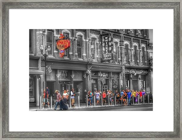 Crazy Town Framed Print