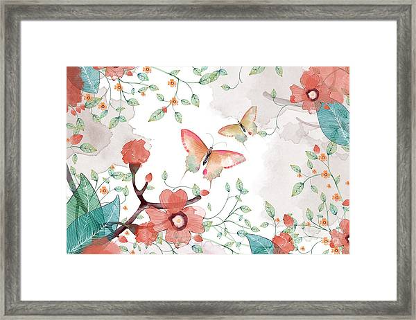 Creative Illustration And Innovative Framed Print