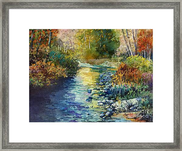 Creekside Tranquility Framed Print