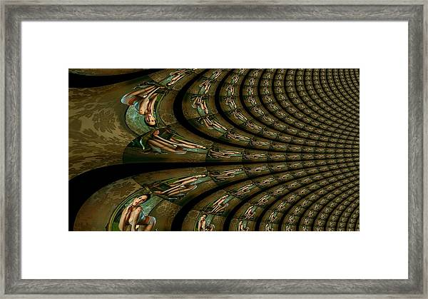 Crocodile Hunter Framed Print