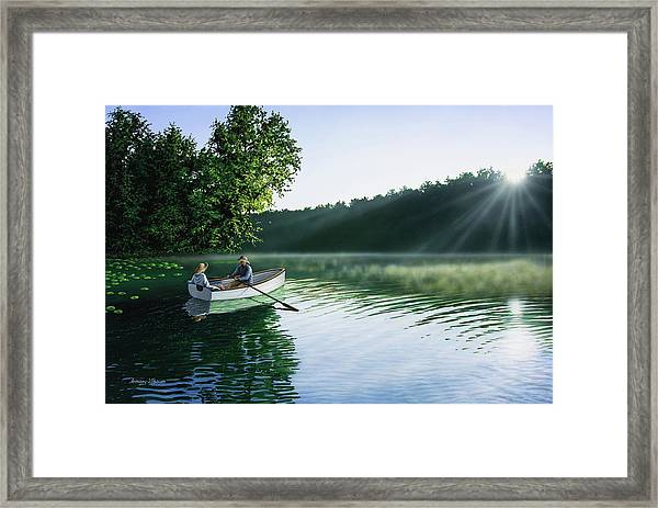 Cruise For Two Framed Print
