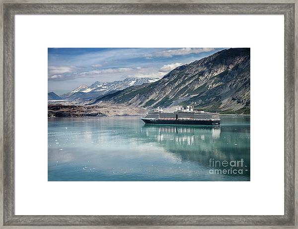 Cruise Ship Framed Print