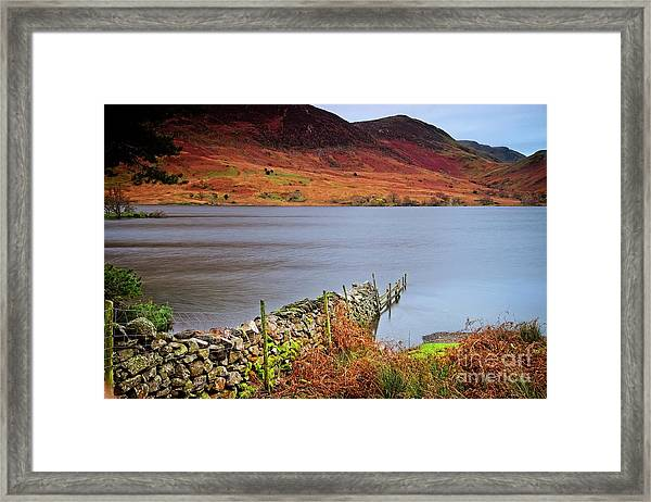Crummock Water - English Lake District Framed Print