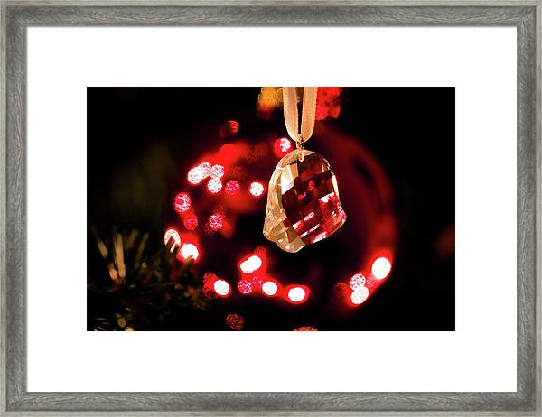 Crystal Bell Framed Print