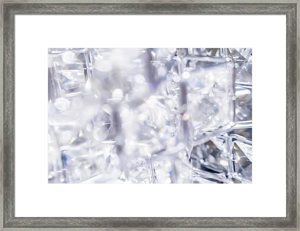 Crystal Bling II Framed Print