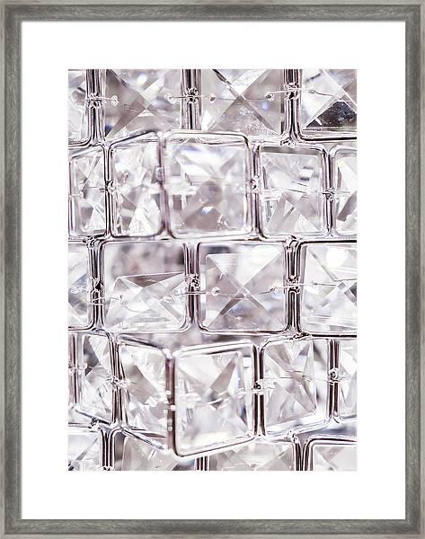 Crystal Bling IIi Framed Print