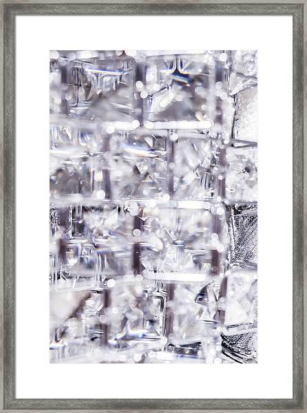 Crystal Bling Iv Framed Print