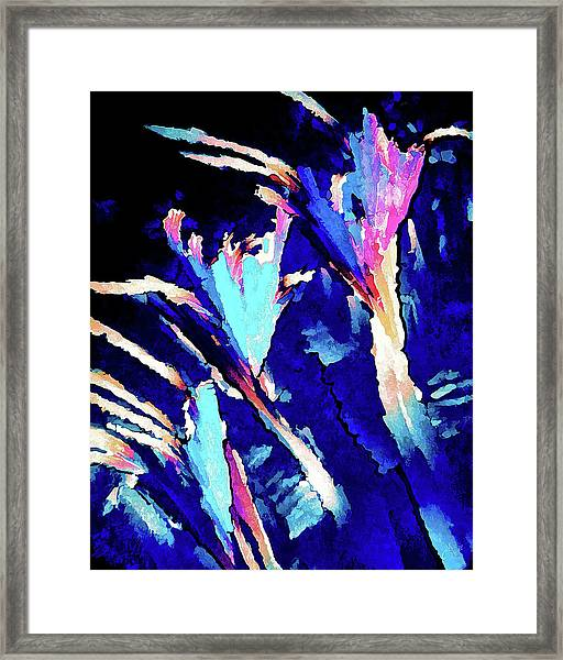 Crystal C Abstract Framed Print
