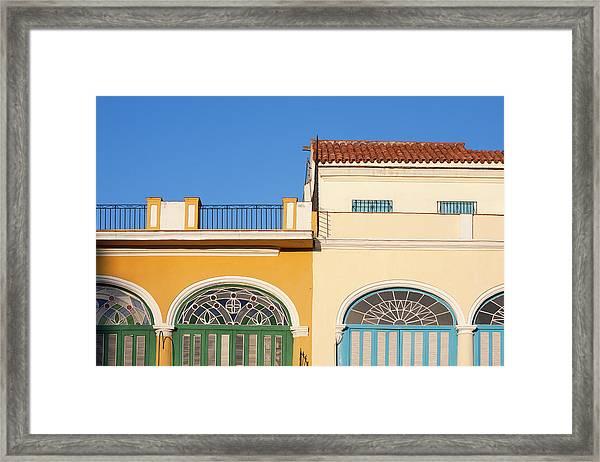 Cuba, Ciudad De La Habana Province Framed Print