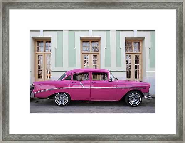 Cuba, Sancti Spiritus Province Framed Print
