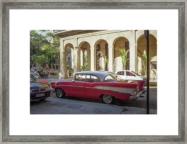 Cuban Chevy Bel Air Framed Print