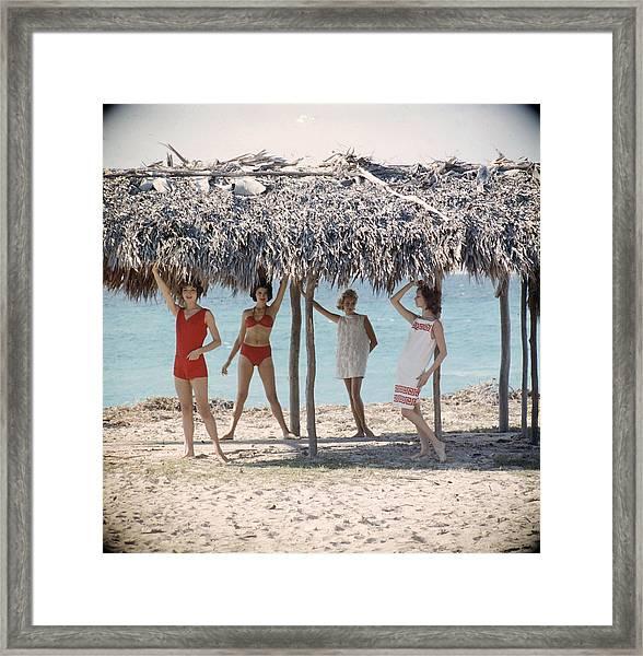 Cuban Fashion Framed Print