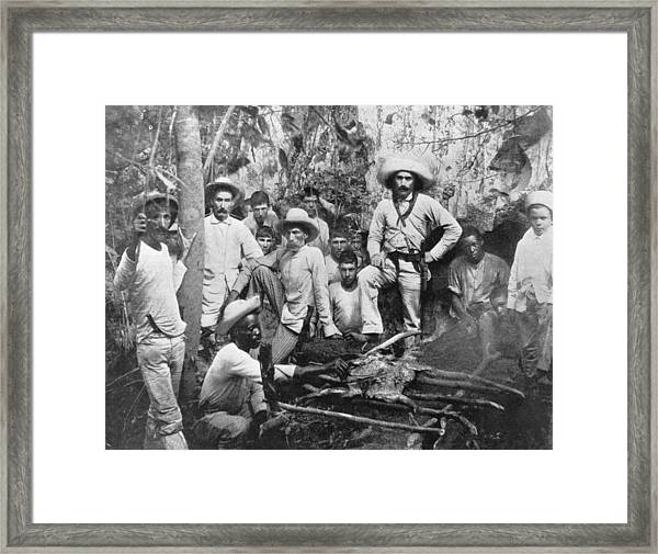 Cuban Rebels Framed Print