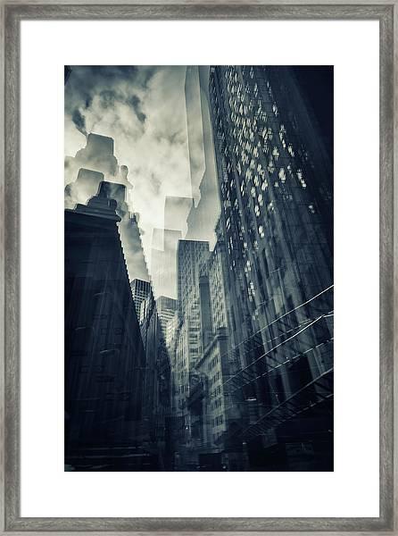Cubist Wallstreet Framed Print