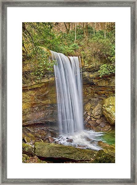 Cucumber Falls Framed Print