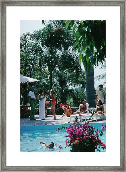 Cuernavaca Resort Framed Print