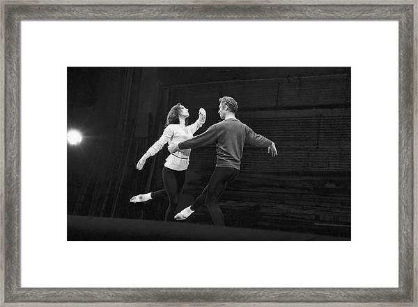 Cunningham & Brown Dance Framed Print