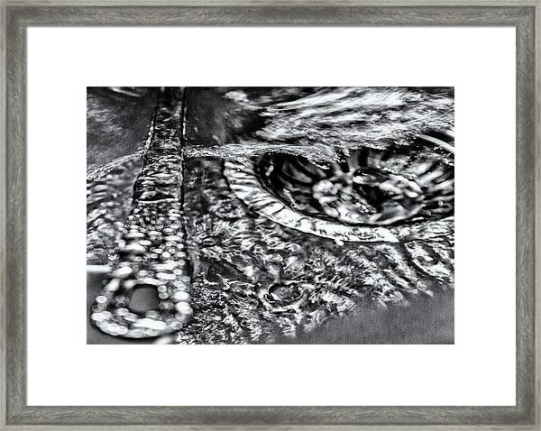 Cutlery Tsunami Framed Print