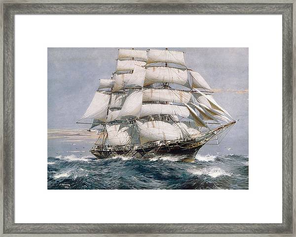 Cutty Sark Framed Print by Hulton Archive
