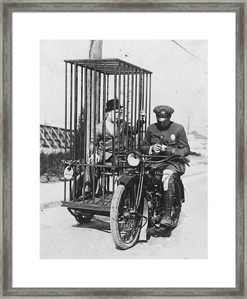 Cycle Cell Framed Print