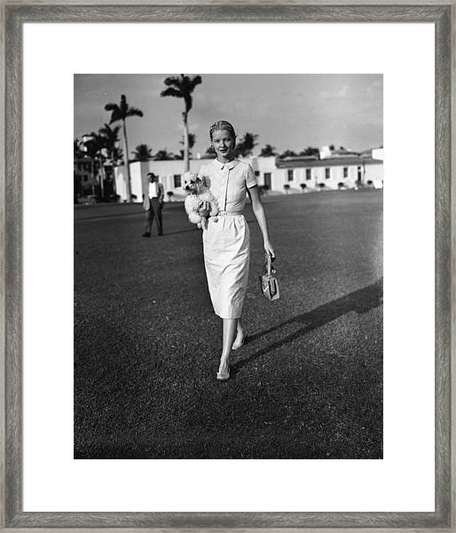 C.z. Guest At The Everglades Club In Framed Print