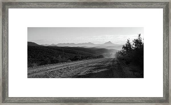 D0734 Framed Print