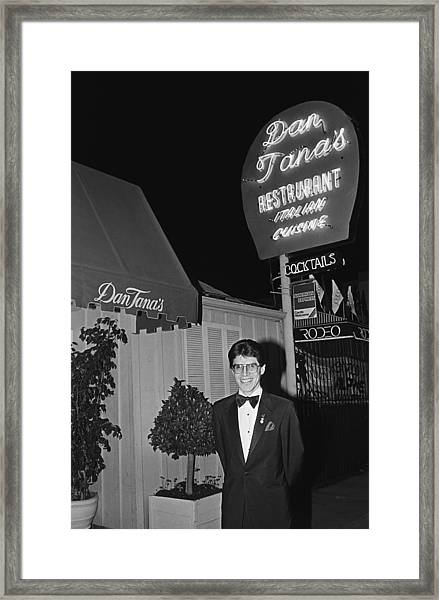Dan Tanas Los Angeles Restaurant To The Framed Print