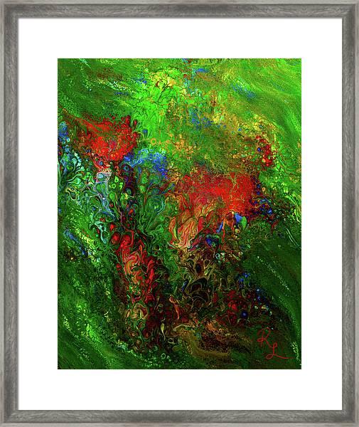 Dance Of The Dragon Framed Print