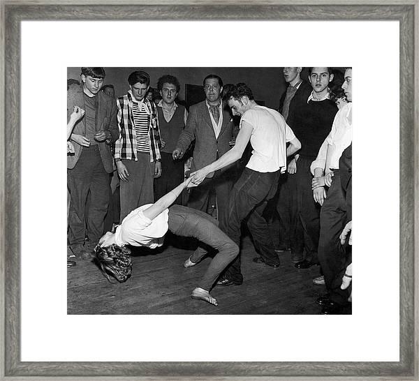 Dancer Around 1960 Framed Print