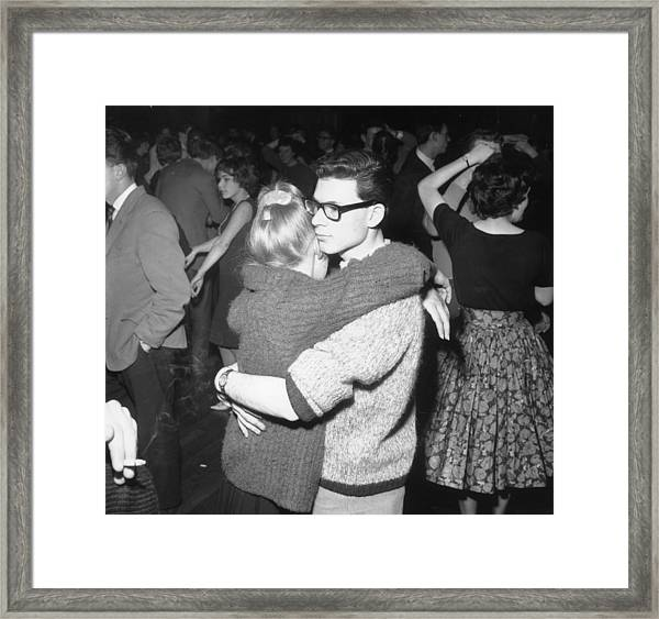 Dancing Couples Framed Print