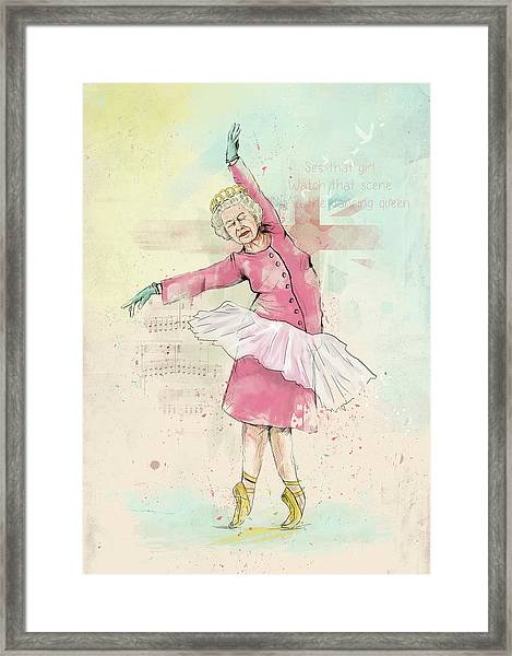 Dancing Queen Framed Print