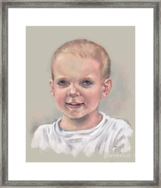 Daniel Framed Print