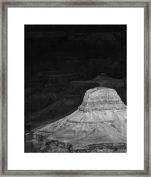 Dark Grand Canyon Framed Print