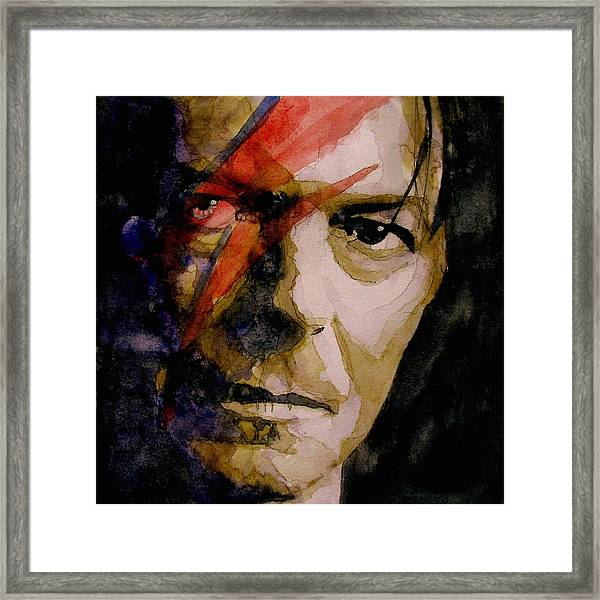 David Bowie - Past And Present  Framed Print